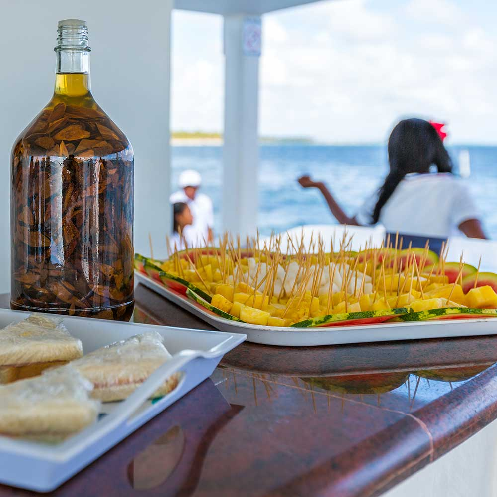 Buffet In Party Boat